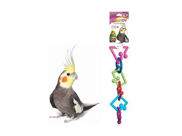 Brinquedo para pássaros Bird Toy Furacão Pet - Tamanho P