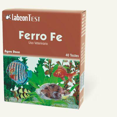 Labcon teste de Ferro (Fe) para água doce - 40 testes