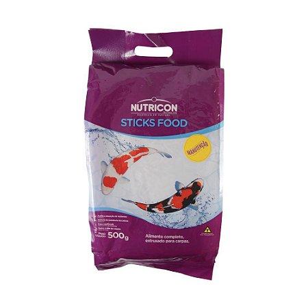 Alimento completo para carpas NutriconPet Sticks Food Manutenção 3kg