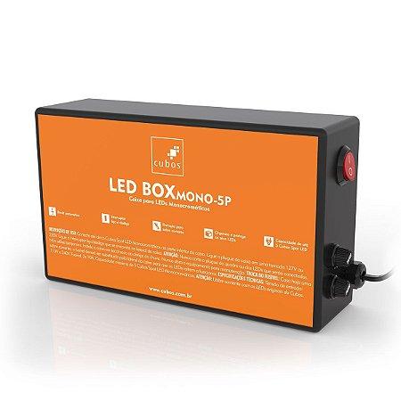 LED BOX MONOCROMÁTICO 5P