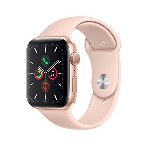 Apple Watch Serie 5 44mm GPS/Caixa de Alumínio Rose com Pulseira Esportiva Pink