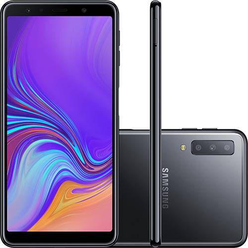 Galaxy A7 128GB Dual Chip Android 8.0 Tela 6-Preto