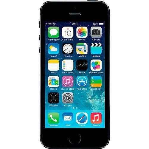 Iphone 5s 32g Chip A7, Ios 8, Tela 4,  Câmera 8mp