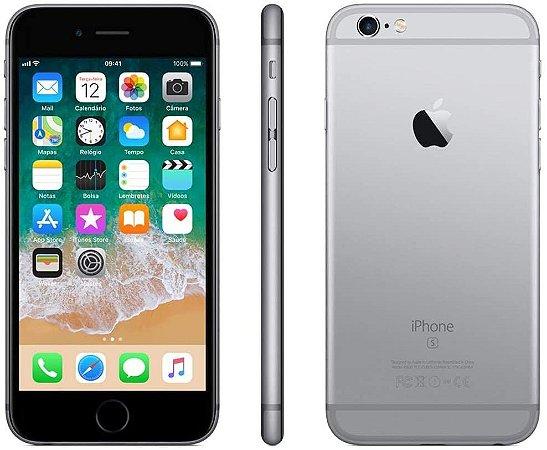 iPhone 6s 32GB Cinza Espacial  Câmera 12MP - Apple