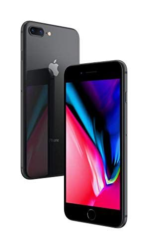 iPhone 8 Plus Apple 64GB Preto 4G Tela 5,5 Câmera 12MP iOS 11-Preto