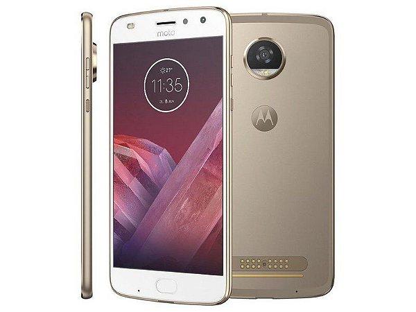 Motorola Moto Z2 Play 64GB Ouro - Dual Chip 4G Câm. 12MP