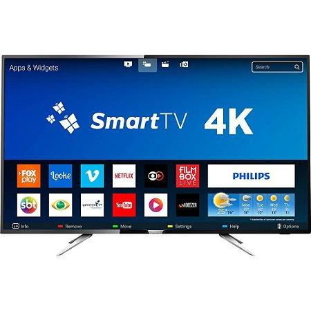 TV 55P PHILIPS LED SMART 4K USB HDMI - 55PUG6102