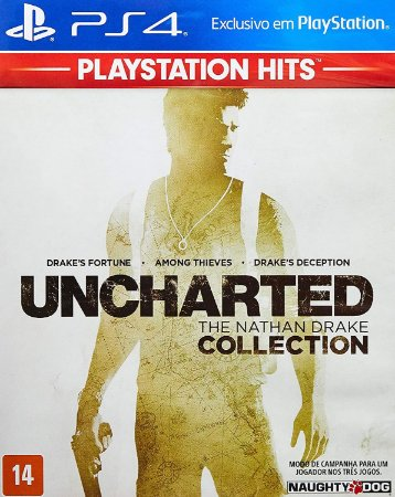 Uncharted: The Drake Collection Hits - PlayStation 4