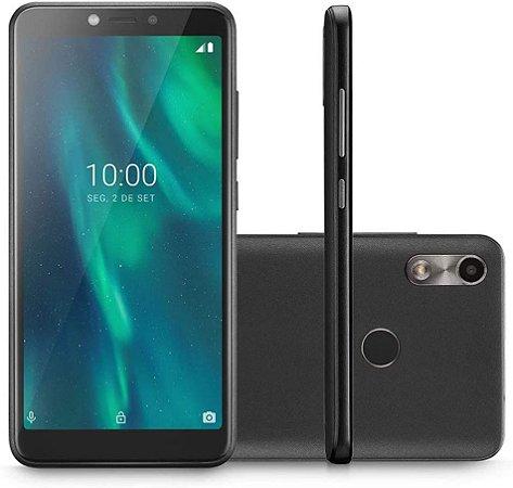 Smartphone Multilaser F 3G Android 9 Pie 1GB RAM 32GB Preto/Café