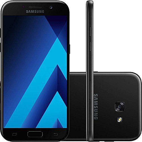 Smartphone Samsung Galaxy A5 2017 SM-A520f/ds Preto Dual Chip Android 6.0 4G Wi-Fi Câmeras de 16MP