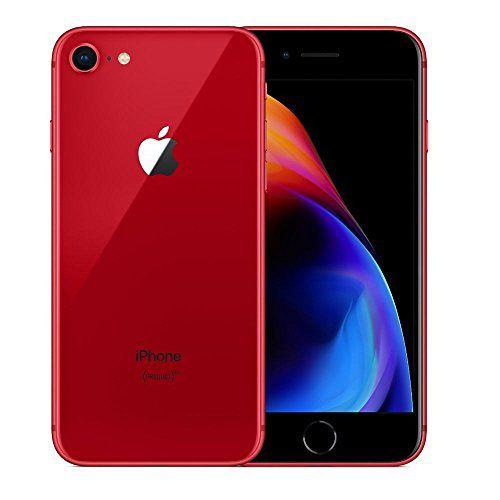 "IPhone 8 Vermelho 64GB Tela 4.7"" IOS 11 4G Wi-Fi Câmera 12MP - Apple"