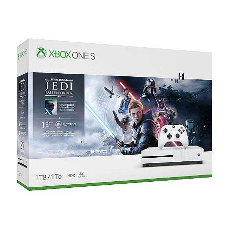 Xbox One S 1tb Edição Star Wars - Branco