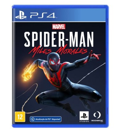 JOGO MARVEL S SPIDER-MAN: MILES MORALES - PS4
