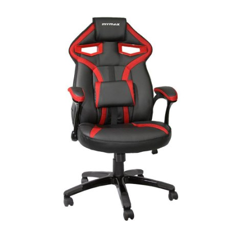 Cadeira Gamer Mymax MX1 Preto e Vermelho