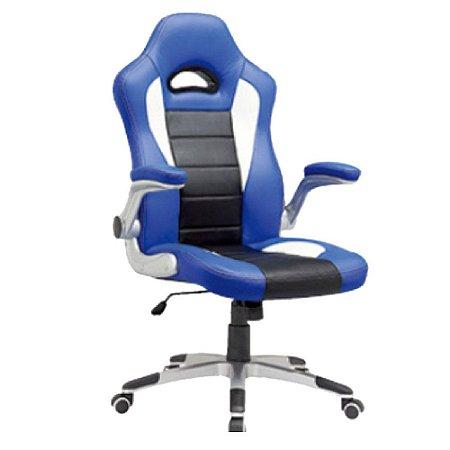 Cadeira Gamer Mymax MX2 Preto e Azul