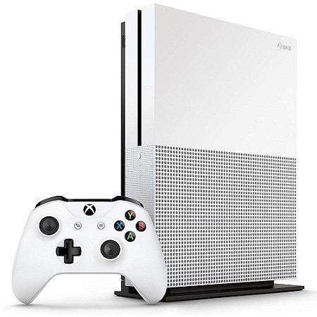 Console Xbox One S 1TB + 2 Controle Sem Fio - Branco - Microsoft