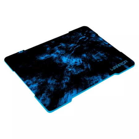 Mouse Pad Gamer Warrior Azul Sem Costura 250x340mm– Multilaser
