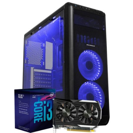 Computador Mega Gamer 2, Intel Core I3 8100, GeForce GTX 1050 2GB, 8GB DDR4, HD 1TB, 500W