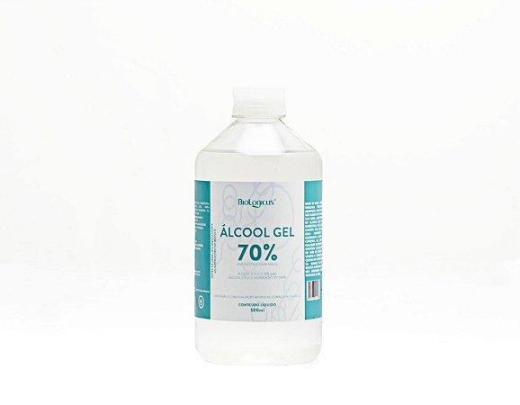 ALCOOL GEL 70% INPM BIOLOGICUS - 500 ML - EXCLUSIVO PARA PERNAMBUCO