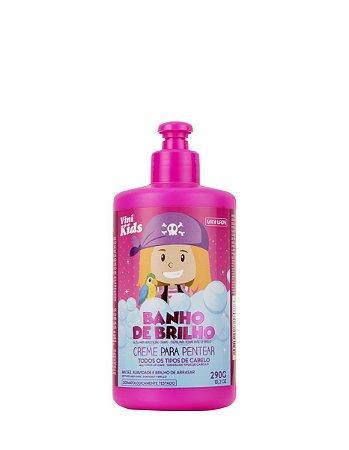 Creme de Pentear Infantil Vini Kids Banho de Brilho 290gr