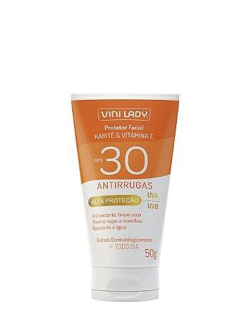 Protetor solar FPS 30 Antirrugas 50g