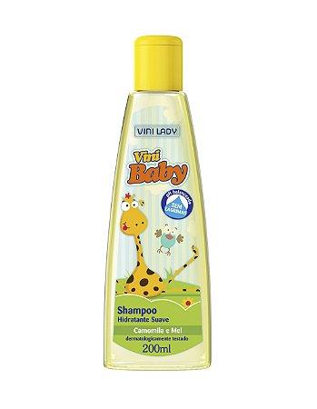 Shampoo Vini Baby Camomila e Mel 200ml