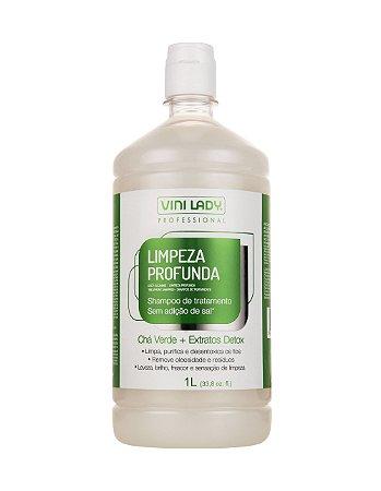 Shampoo Profissional Limpeza Profunda 1L
