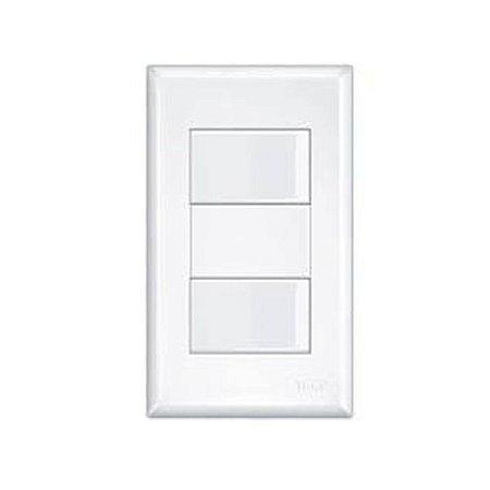 Interruptor 2 Teclas Simples -Distanciados- Evidance Fame