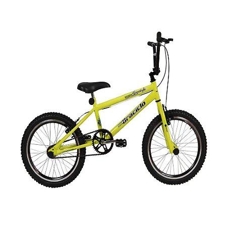 Bicicleta Freestyle Braciclo ARO 20 Masculina Freios V-Brake