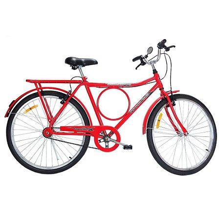 Bicicleta Monark Barra Circular ARO 26 Masculina Freio Sueco