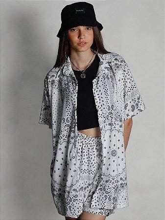Camisa Flow Bandana Branco