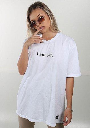 Camiseta Boyfriend Touch Of God Branca