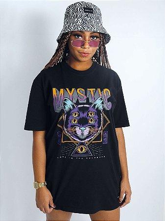 Camiseta Boyfriend Mystic Preta