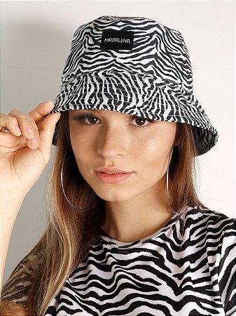 Bucket Hat Madalena Zebrinha