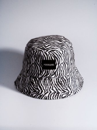 Bucket Hat Madalena Zebrinha