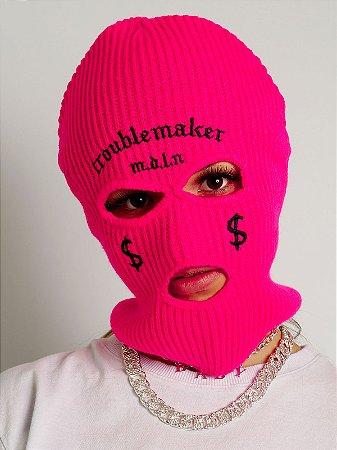 Balaclava Troublemaker Rosa Neon