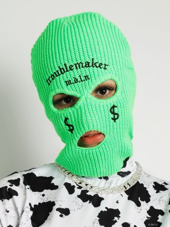 Balaclava Troublemaker Verde Neon