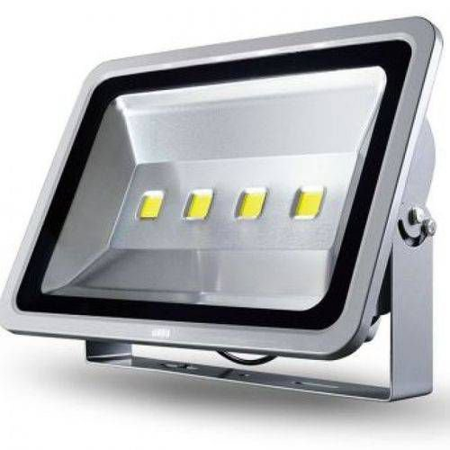 Refletor Holofote LED 200w Branco Quente 3000K