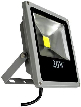 Refletor Holofote LED 20w Branco Quente 3000K
