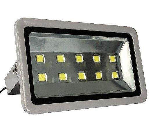 Refletor Holofote LED 500w Branco Frio 6000k