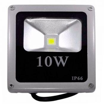 Refletor Holofote LED 10w Branco Quente 3000K
