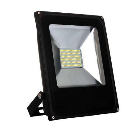 Refletor Holofote MicroLED Slim 50W Branco Frio 6000k