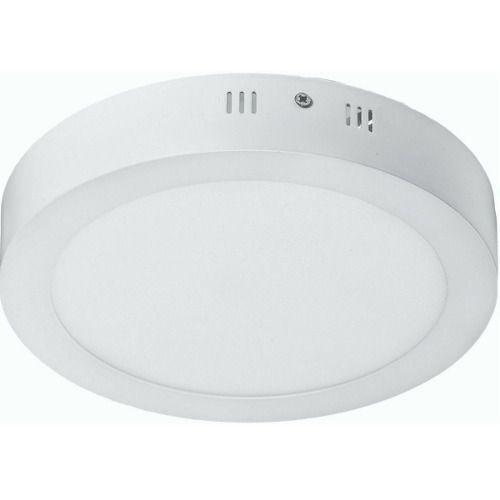 Luminária Plafon 12w LED Sobrepor Branco Quente 3000K