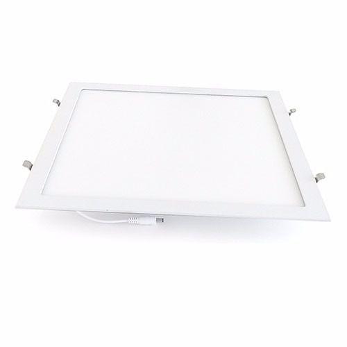 Luminária Plafon 40x40 36w LED Embutir Branco Natural 4000K
