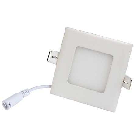 Luminária Plafon 3w LED Embutir Branco Frio 6000k