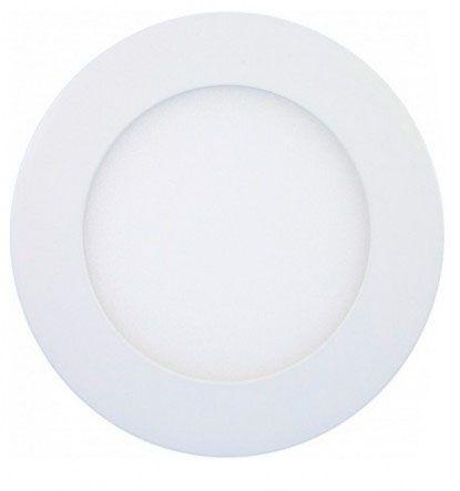 Luminária Plafon 6w LED Embutir Branco Quente 3000K