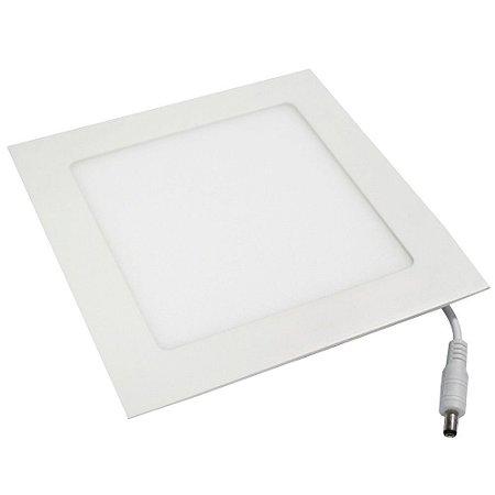 Luminária Plafon 18w LED Embutir Branco Natural 4000K