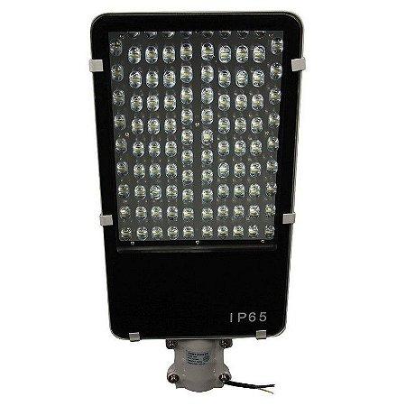 Luminária Pública LED 100W Externa Para Poste - Branco Frio 6000k