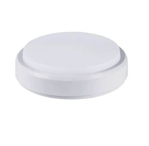 Luminaria Arandela LED 12W Sobrepor Branco Quente 3000K