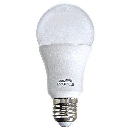 Lâmpada Bulbo LED A60 12W Bivolt Branca - Branco Quente 3000K